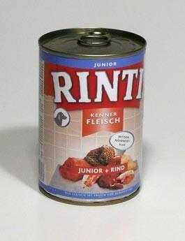Rinti Dog Junior konzerva hovězí 400g