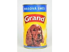 obrázek GRAND konz. pes masová směs 1300g