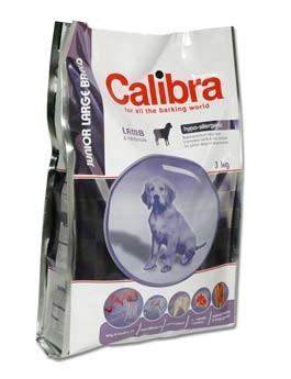 Calibra Dog Junior Large Breed Lamb&Rice 3kg
