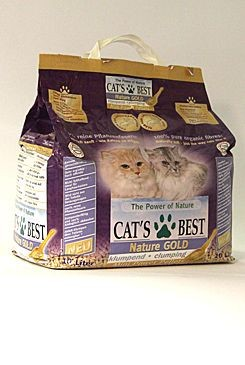 Podestýlka Cats Best Nature Gold kočkolit 10l
