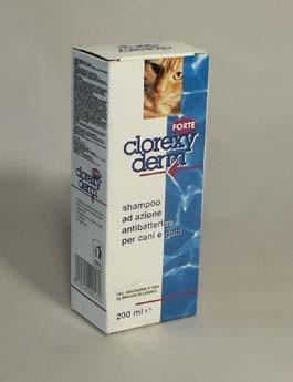 Clorexyderm forte šampon ICF 200ml