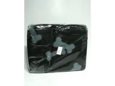 obrázek Deka pro psy fleece Beany Černá a kosti 100x70cm TR